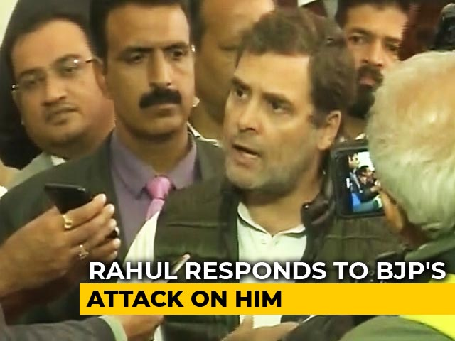 "Video : ""Won't Apologise,"" Says Rahul Gandhi Amid Row Over ""Rape In India"" Remark"