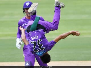 Watch: Afghan Spinners Somersault Celebration After Taking Wicket In Big Bash League