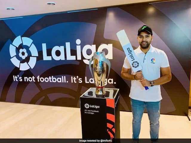 "Rohit Sharma ""Humbled And Excited"" To Become La Liga Brand Ambassador"