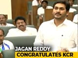 "Video : ""Hats Off"": Jagan Reddy Praises KCR On Telangana Accused Killing"