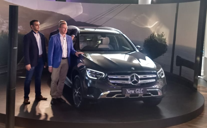 Martin Schwenk, MD & CEO, Mercedes-Benz India & dealer principal T&T Motors with the GLC