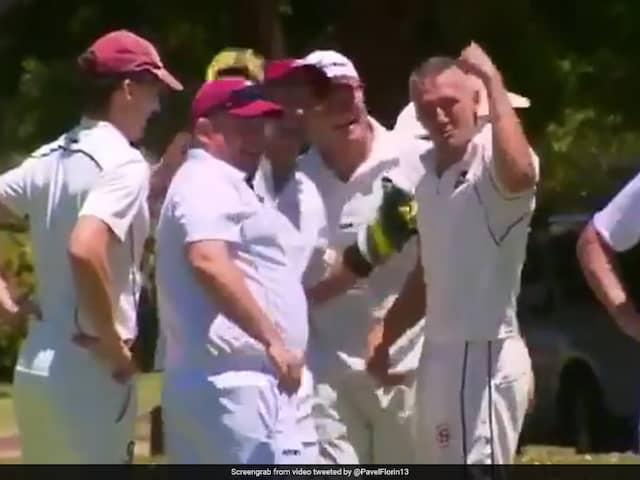 Twitter Full Of Praise For Romanian Cricketers First Run Out In Australia
