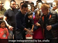 Watch: Salman Khan Cuts A Four-Tier Cake With His Family And Friends For 54th Birthday