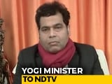 """Video: """"Some Trying To Misrepresent What Yogi Adityanath Said: UP Minister On 'Badla' Remark"""