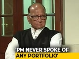 Video : Did PM Modi Offer Cabinet Post? Sharad Pawar Contradicts Daughter Supriya Sule
