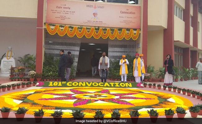 BHU's 101st Convocation Begins; 11,529 Degrees To Be Awarded To Students