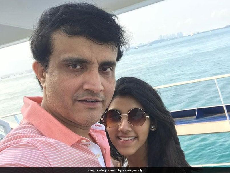 """Not True"": Sourav Ganguly On Daughter"
