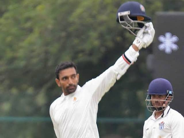 Ranji Trophy: Robin Uthappa Century Takes Kerala To 276/3 As Delhi Spinners Falter On Opening Day