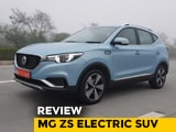 Review MG ZS Electric SUV