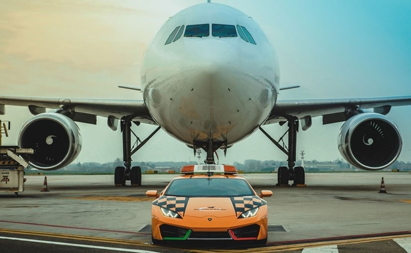 Lamborghini has extended its collaboration with Guglielmo Marconi Airport in Bologna.