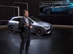 Mercedes EQA Electric Crossover Teased; Global Debut In 2020