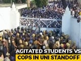 Video : Protests At University In Lucknow, Cops Ask Students To Remain Inside