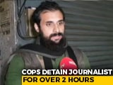 "Video : ""Cop Said He Would Tear My Beard"": Lucknow Journalist Detained, Released"