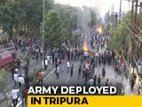 Video : Citizenship Bill Protests: Army In Tripura, 5,000 Personnel In Northeast