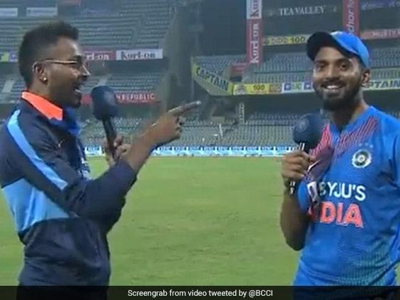 IND vs WI: टीम इंडिया की सीरीज जीत के बाद हार्दिक पंड्या ने लिया KL Rahul का इंटरव्यू, देखें VIDEO