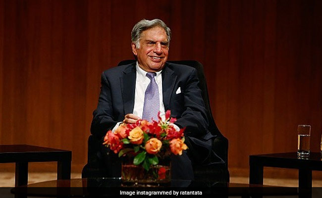 Ratan Tata Offers Tips To Entrepreneurs For Creating Perfect Pitch Deck