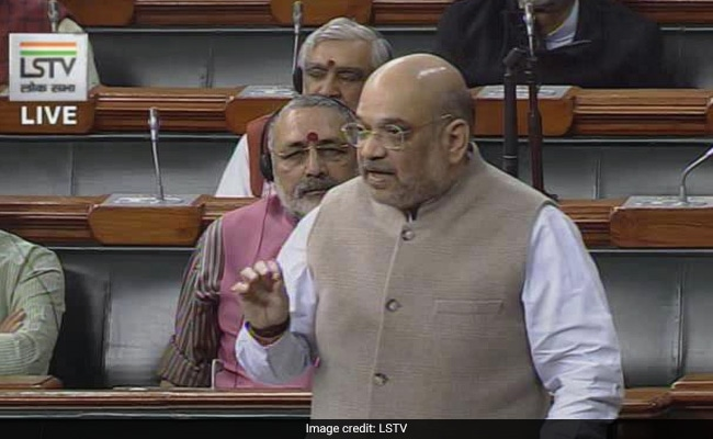 """""""No Interference From Us"""": Amit Shah On Row Over J&K Leaders' Detentions"""