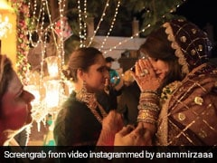 """Really Gonna Miss You,"" Says Sania Mirza In Sister Anam's Wedding Video"