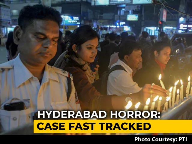 Video : Telangana Vet Rape And Murder Case To Be Heard By Fast-Track Court
