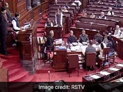 Rajya Sabha TV Stopped Telecast When Opposition Heckled Amit Shah