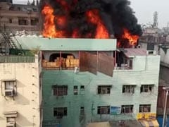 """Heard Labourers Trying To Run Out"": Nearby Building Owner On Delhi Fire"