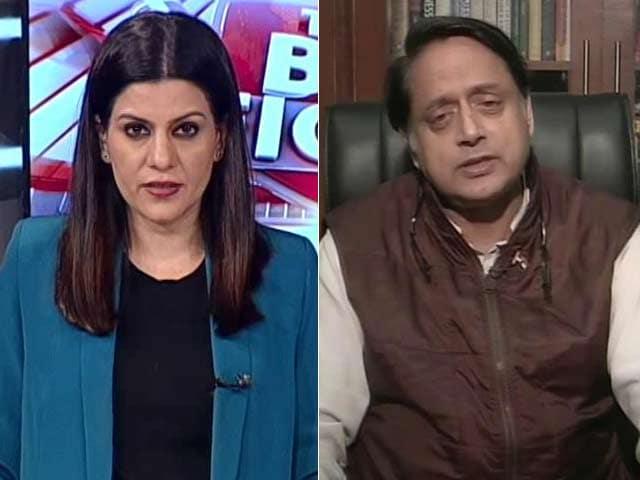 Video : Religion Determining Nationhood Was Idea Of Pak: Shashi Tharoor On Citizenship Bill