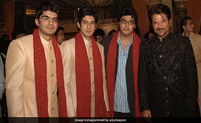 'Majnu Bhai' Anil Kapoor And His 'Musketeer' Arjun Kapoor In This Throwback Pic