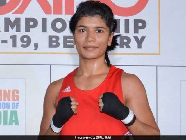 Nikhat Zareen Advances To Final Of Boxing Trials For Olympic Qualifiers