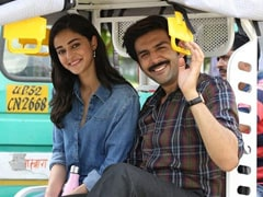 <i>Pati Patni Aur Woh</i> Box Office Collection Day 8: Kartik Aaryan's Film Makes Rs 59 Crore