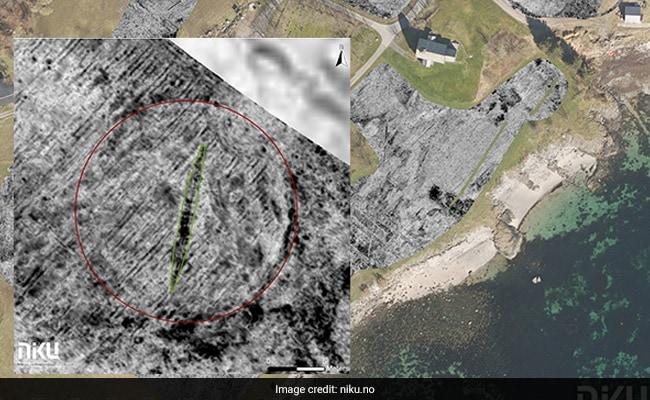 Massive Viking Ship Found Buried On Island For A Millennium Using Radar