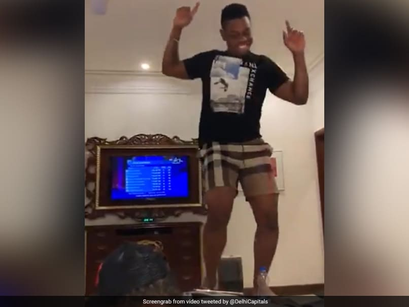 Watch: Shimron Hetmyers Crazy Celebration After Delhi Capitals Buy Him For Rs 7.75 Crore