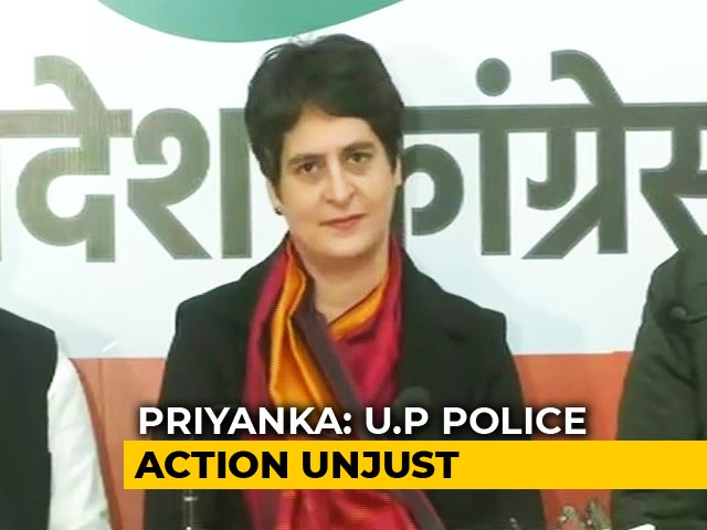 "Video : No Space For ""<i>Badla</i>"": Priyanka Gandhi Vadra Hits Out At Yogi Adityanath"