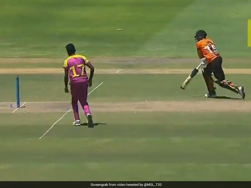 Sri Lanka Bowler Isuru Udana Refuses Run Injured Batsman Out In Mzansi Super League. Watch