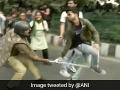 JNU Students Lathi-Charged By Cops During Protest In Delhi Over Fee Hike