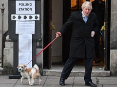 Boris Johnson's Dog, Thousands Of Pets Lined Up Outside UK Polling Booths