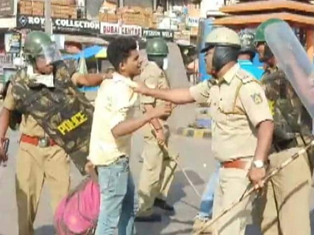 Video : Karnataka's Day Of Protest Against Citizenship Law