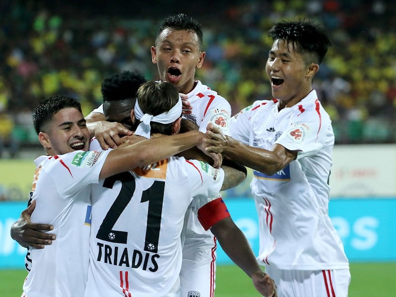 ISL: Kerala Blasters FC, NorthEast United FC Share Spoils After Playing 1-1 Draw