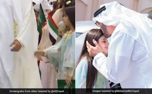Abu Dhabi Crown Prince Visits Girl Who Couldn?t Shake His Hand During Event