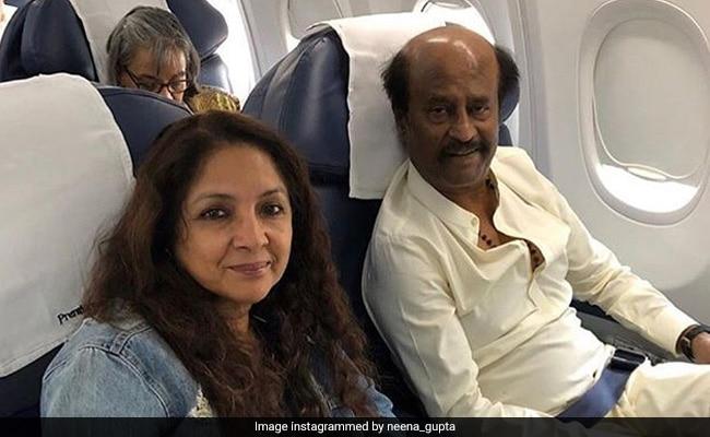 On Rajinikanth's 69th Birthday, Neena Gupta Expresses Her 'Wish To Work With Him One Day'