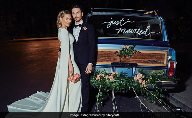 Hilary Duff Marries Matthew Koma. Actress Shares First Wedding Pic