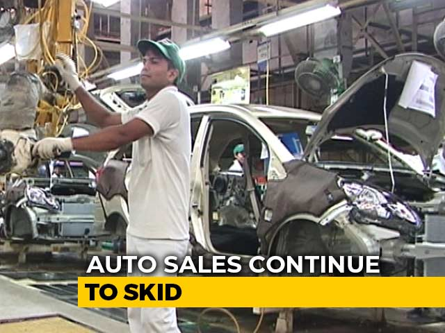 Video : Auto Sales Continue To Decline