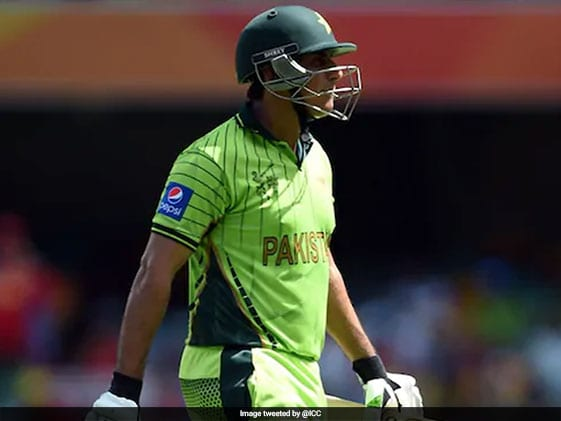 Pakistan's Nasir Jamshed Jailed For 17 Months Over Spot-Fixing