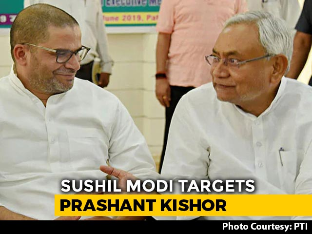 Video : What Nitish Kumar Said Amid War Of Words Between Prashant Kishor And BJP