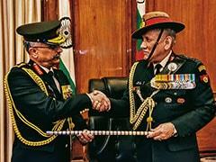 General Manoj Mukund Naravane Takes Charge As New Army Chief