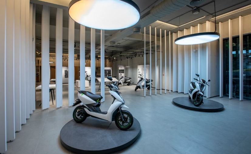 The Ather 450 does not get any changes to the power or battery figures as part of the update