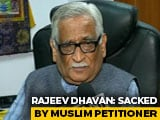 "Video : Ayodhya Case Lawyer Rajeev Dhavan Says ""Sacked"" For ""Nonsense"" Reason"