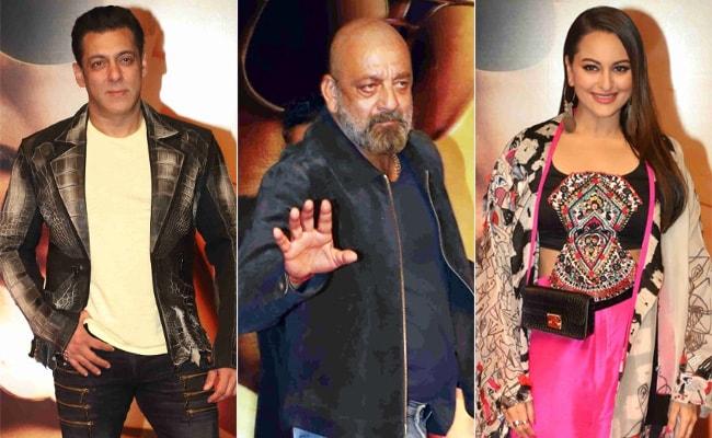Sanjay Dutt Accepts Salman Khan, Sonakshi Sinha's Invitation To Dabangg 3 Screening. Iulia Vantur Was Also There