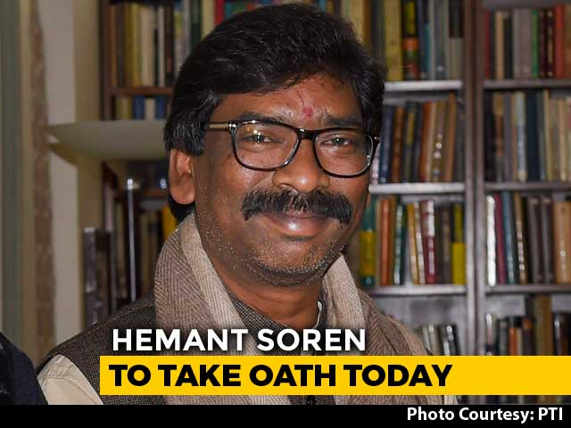 Video : Hemant Soren's Oath Today In Jharkhand At Opposition Unity Event