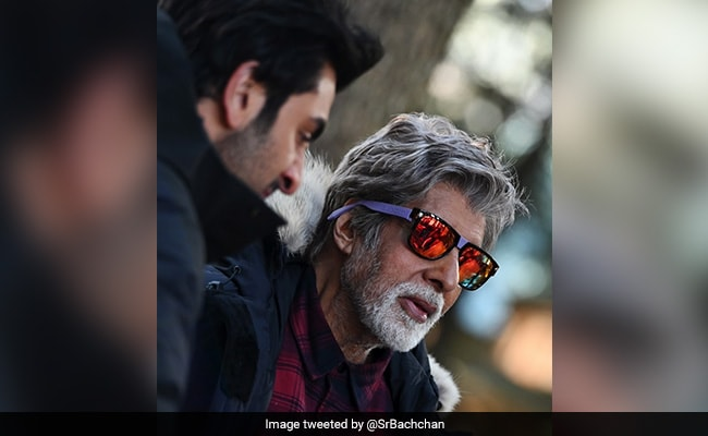 A Day In The Life Of Amitabh Bachchan: Shooting In Minus Three Degrees And Quirky Eyewear
