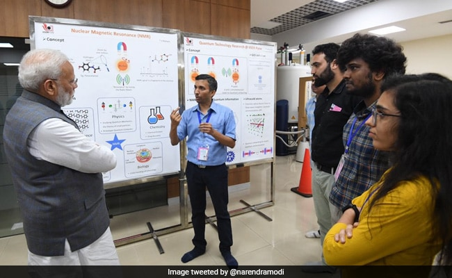 PM Modi Visits Supercomputer Facility In Pune, Meets Scientists